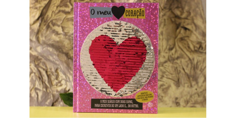 Livro o Meu Coração - Diário