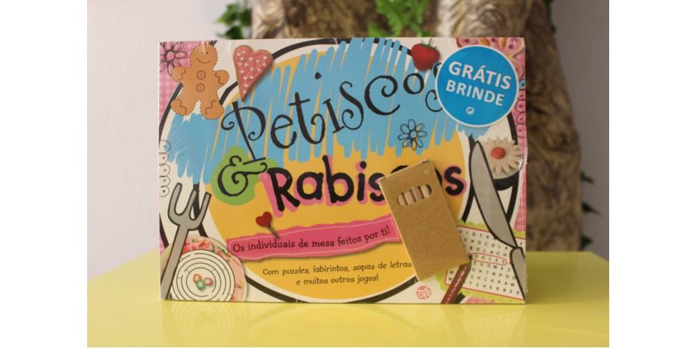 Petiscos & Rabiscos Livro de atividades