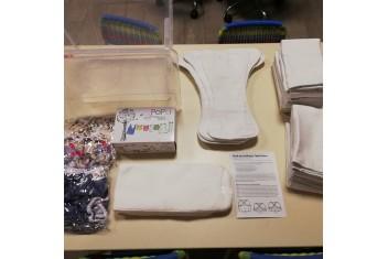Pack de Fraldas Reutilizáveis do Nascimento ao Desfralde