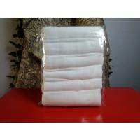 Pack de 6 Musselinas de Bambu Brancas
