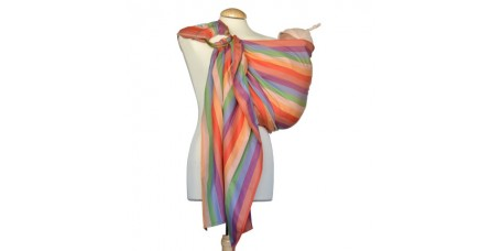 Sling de argolas Algodão Multicolor
