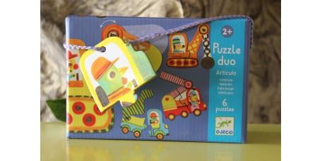 Puzzle - Veículos Articulados