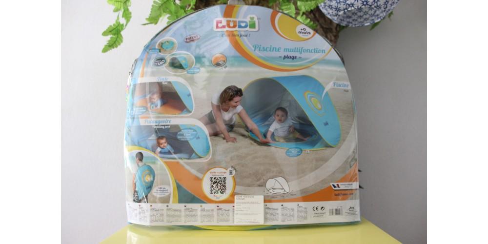 Tenda de Praia Multifunções com Piscina