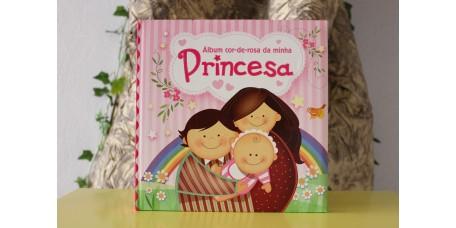 Álbum Cor-de-Rosa da Minha Princesa