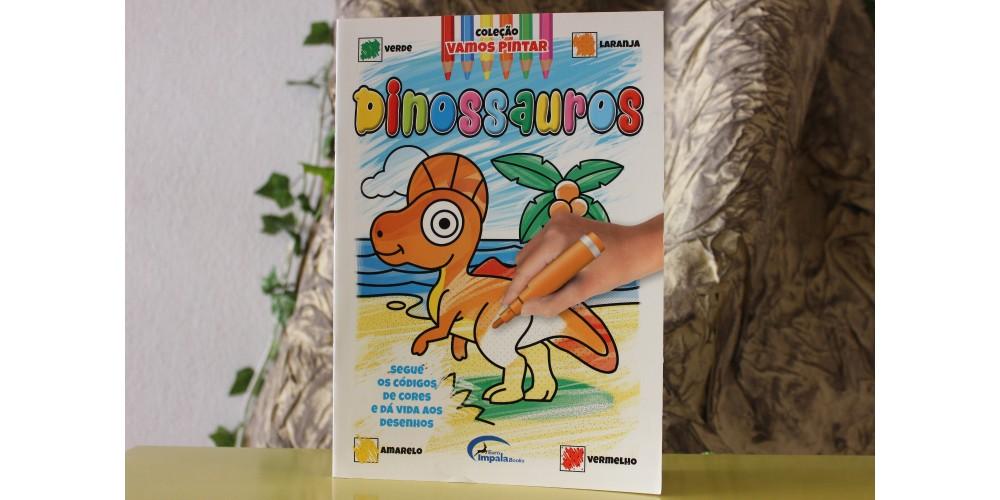 Vamos Pintar Dinossauros