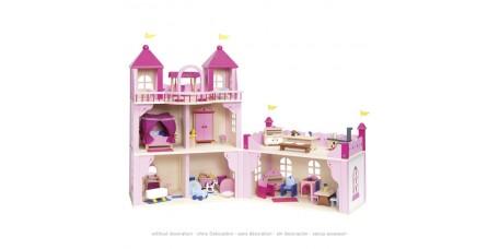 Castelo Cor-de-Rosa - Casa das Bonecas