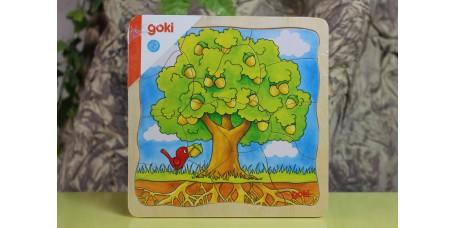 Puzzle de Camadas Desenvolvimento da Árvore