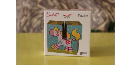 Puzzle 4 Cubos