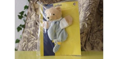 Doudou Urso Azul