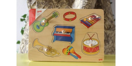 Puzzle dos Sons - Instrumentos Musicais