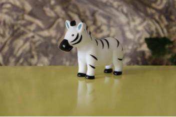 Zebra de Borracha