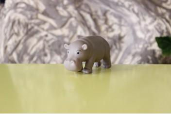 Hipopotamo de Borracha