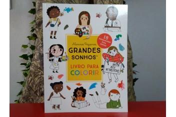 Meninos Pequenos, Grandes Sonhos - Livro para Colorir