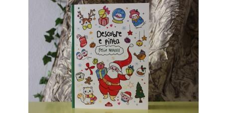 Descobre e Pinta - Feliz Natal