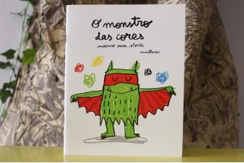 O Monstro das Cores - Caderno para colorir