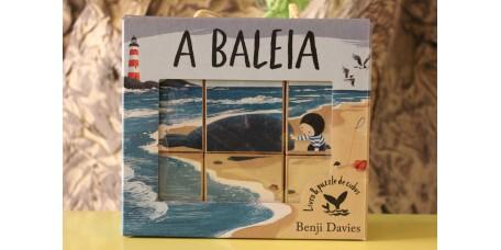 A Baleia (Livro e Puzzle de cubos)