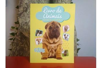 Livro de Animais Autocolantes - Os Cães