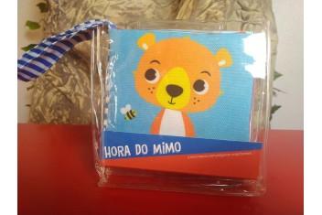 Livro de Pano Hora do Mimo - Urso