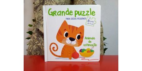 Grande Puzzle para Dedos Pequenos - Animais de Estimação