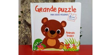 Grande Puzzle para Dedos Pequenos - Animais Bebés