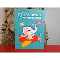 Maxi, Eu Pinto Dentro das Linhas - Azul