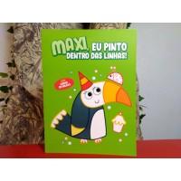 Maxi, Eu Pinto Dentro das Linhas - Verde