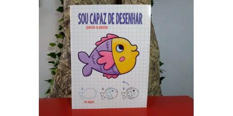 Sou Capaz de Desenhar - Peixe