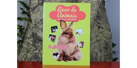 Livro de Animais Autocolantes - A Quinta