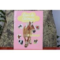 Livro de Animais Autocolantes - O Cavalo