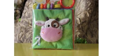 Livro Macio com Som Vaca Mena