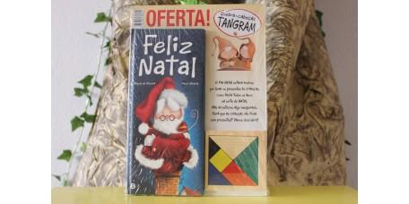 Feliz Natal + puzzle tangram