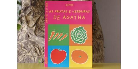Pinta As Frutas e Verduras de Agatha