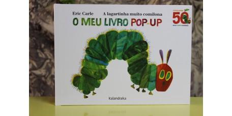 A Lagartinha Muito Comilona - O meu livro pop-up