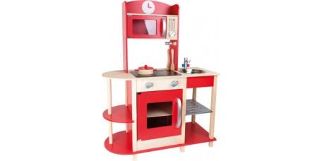 Cozinha Gourmet Vermelha