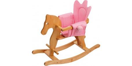 Cavalinho de Embalar com Sela