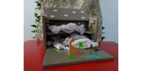 Caixa de Brincar Dinossauros