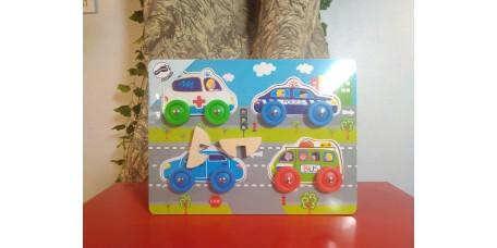 Puzzle Carros 3D