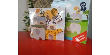 Animais de Empilhar Safari