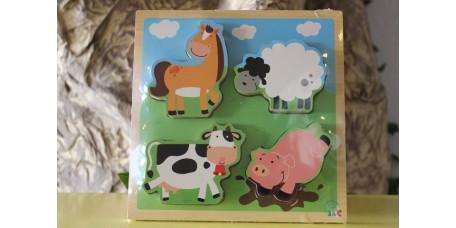 Puzzle - Animais da Quinta