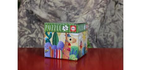 Puzzle 48 Peças Lama