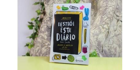Destrói este Diário com Oferta de Maleta e Lápis