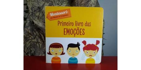 Primeiro Livro das Emoções  - Montessori