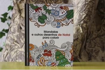 Mandalas e outros Desenhos de Natal para Colorir