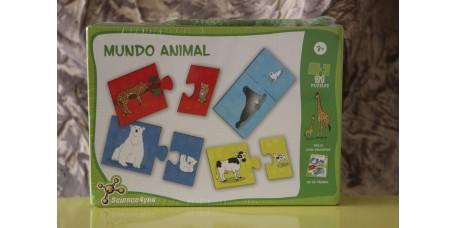 Puzzle Mundo Animal