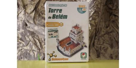 MINI CONSTRUÇÃO 3D TORRE DE BELÉM