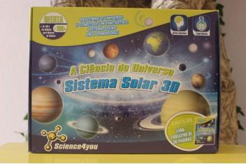 A Ciência do Universo - Sistema Solar 3D