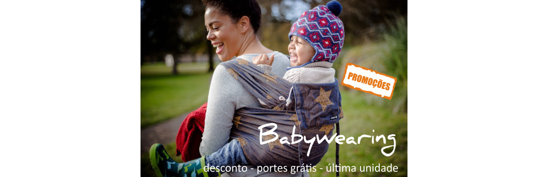 Promoção Stock Off Babywearing