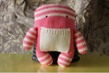 Monstrinho em Crochet
